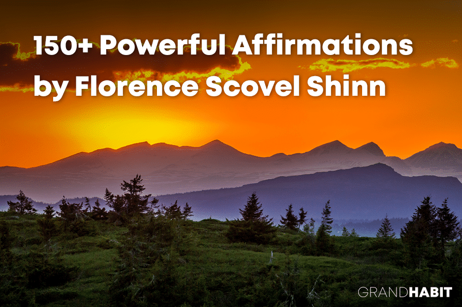 Florence Scovel Shinn Affirmations