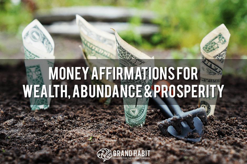 money affirmations for wealth abundance prosperity