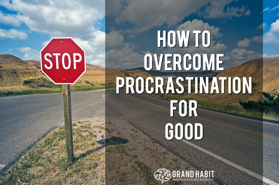 how to overcome procrastination
