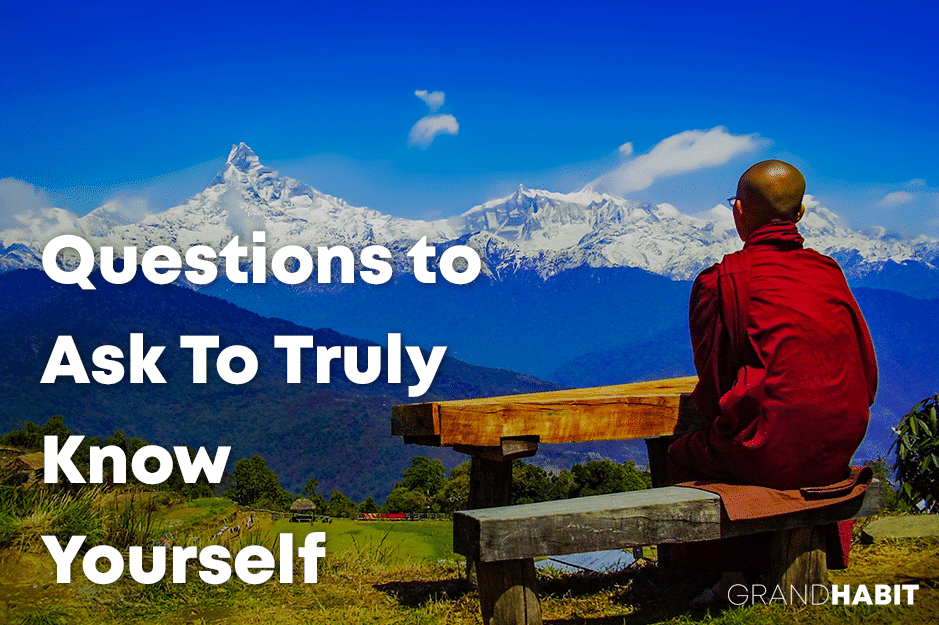 questions to get to know yourself
